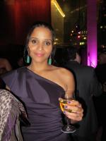 Sydney Tamiia Poitier at Dinner Party