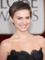Natalie Portman with short hair