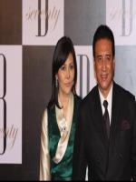 Danny Denzongpa With His Wife