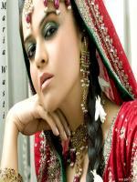 Maria Wasti in Marriage Dress
