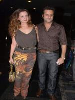 Fardeen Khan with his Wife
