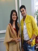 Anushka with Ganesh Venkatraman