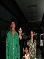 Chunky Pandey With Family
