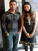 Githan Ramesh and Sanchita