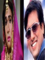 Govinda in female dress in Movie Aunty no. 1