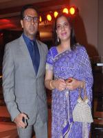 Gulshan Grover with Wife