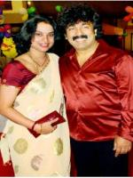 Gurukiran With his Wife