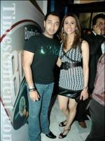 Hiten Paintal with Kishwar Merchant
