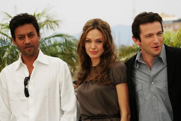 Irrfan Khan with  Angelina Jolie