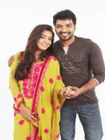 Nazriya Nazeem and Jai