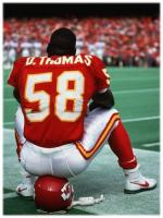 Derrick Thomas After Match