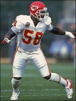 Derrick Thomas in action