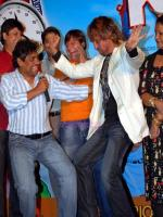 Shakti Kapoor Dancing with Johny Lever