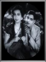 K.L. Saigal in a movie Jiban maran