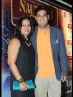 Kunaal Roy Kapur With his Wife