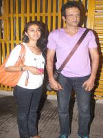 Nivedita Bhattacharya and Kay kay Menon