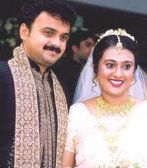 Kunchacko Boban With his Wife