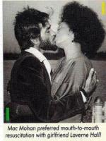 Mac Mohan kissing