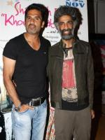 Makrand Deshpande with Suniel Shetty