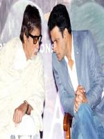 Manoj Bajpai with Amitabh Bachan