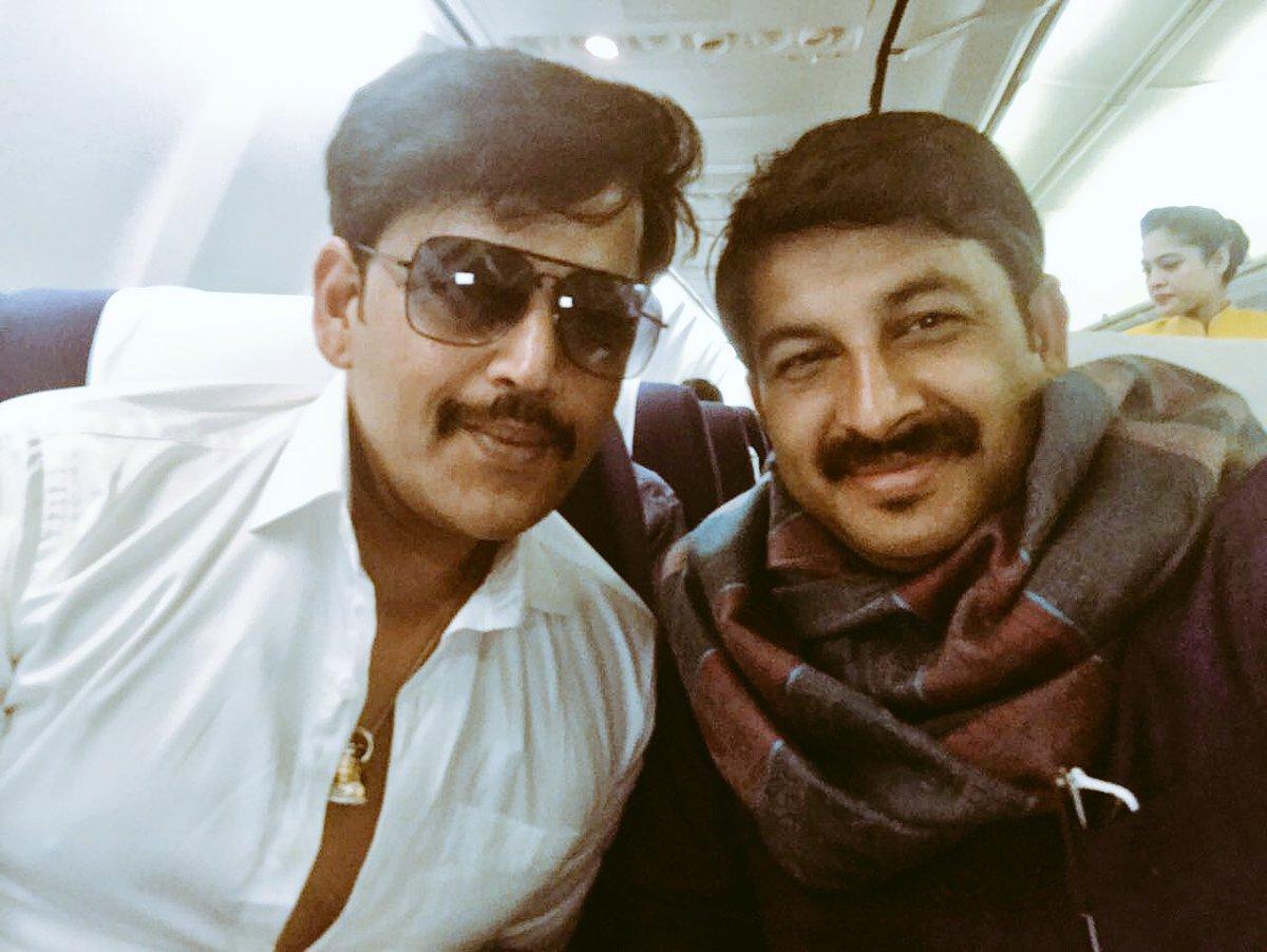 Tiwari and Kishan Latest Photo