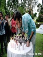 Ranbir Kapoor With Birthday Cake
