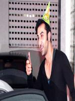 Ranbir Kapoor in Birthday Hat