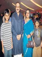 Sachin Khedekar Family Pics