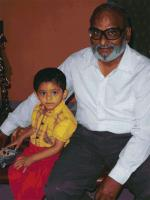 Sharad Talwalkar with kid