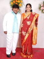 Suman Setty Wedding Pic