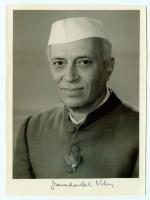 First prime Minister Jawaharlal Nehru