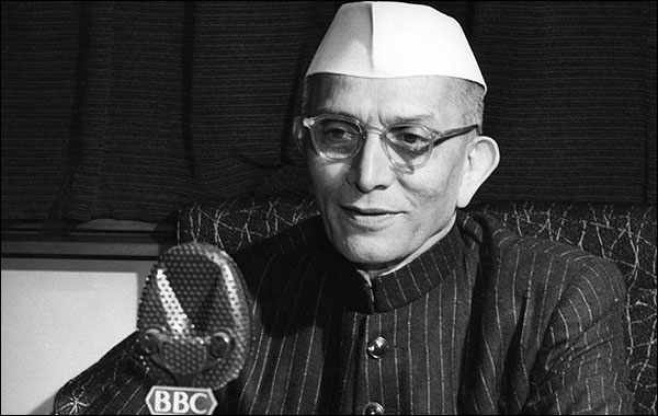 Morarji Desai Speech
