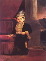 Young Fatehsinghrao Gaekwad