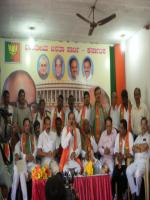 D. B. Chandre Gowda Group Pic