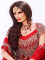 Mehreen Syed Best Brilliant Red dress