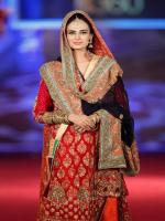 Mehreen Syed in Wedding Dress