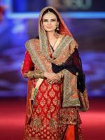 Mehreen Syed in Wedding Dress