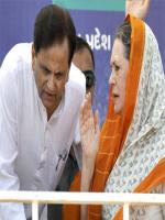 Ahmed Patel With Sonia Ghandi
