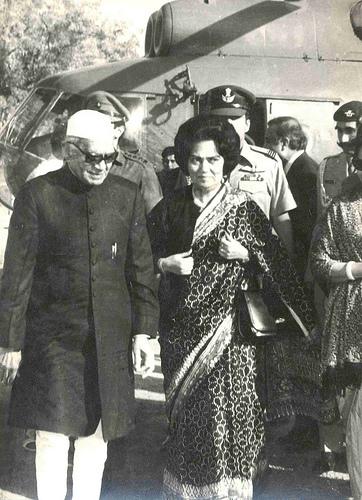 Begum Abida Ahmed At Air Port