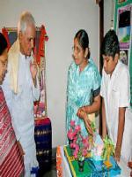 Bhattam Srirama Murthy Visit Stalls