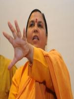 Uma Bharti addressing