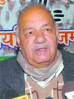 Chaman Lal Gupta Talks to media