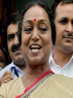 Meira Kumar With Party Members