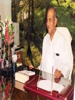 Annasaheb M. K. Patil in Office