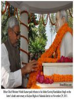 Ramlakhan Singh Durring Poja