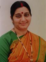 Sushma Swaraj Photo Shot