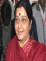 Sushma Swaraj in Gathering