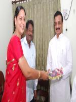 Sai Prathap Annayyagari Reciving Award