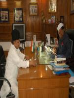 Furkan Ansari in Office