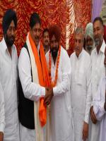 Atma Singh Gill with Party Members